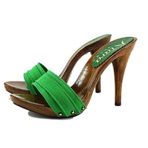 zoccoli verdi tacco 12 kiara shoes 1