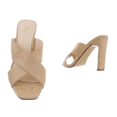 sandali estivi beige