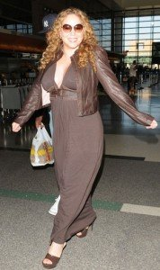 mariah carey before weight loss