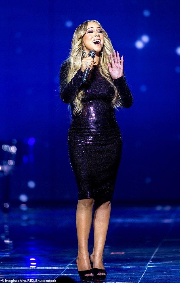 Mariah Carey zoccoli