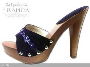 Where to buy mules by calzoleria la rapida