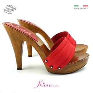 zoccoli con tacco alto di kiarashoes
