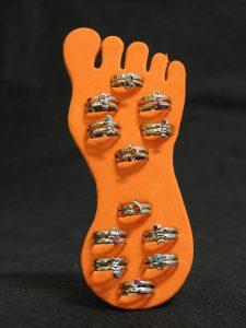 Anelli per dita dei piedi