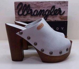 zoccoli di legno da shoes&bags