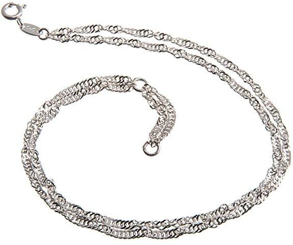 cavigliera-argento-doppia