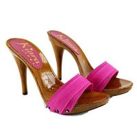 zoccoli fucsia tacco 12 kiara shoes 1