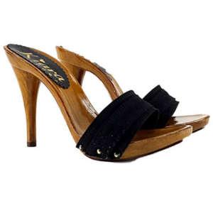 zoccoli neri tacco 12 kiara shoes 1