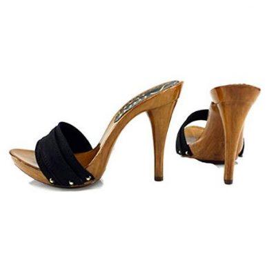 zoccoli neri tacco 12 kiara shoes 2