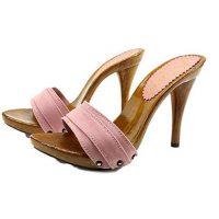 zoccoli rosa tacco 12 kiara shoes