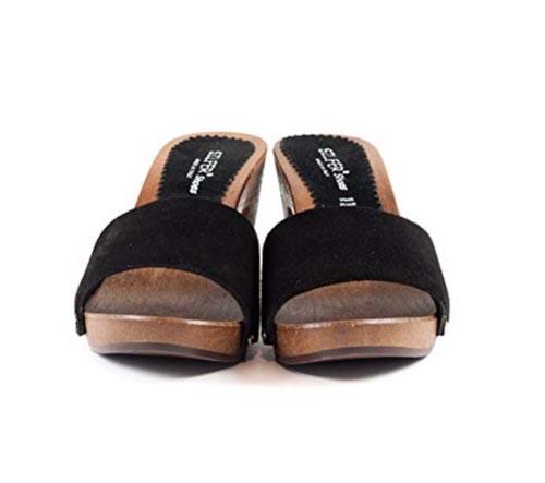 Sandali con tacco 7 neri