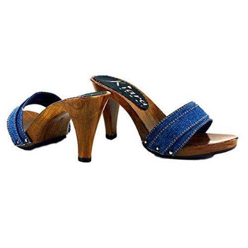 kiara shoes Zoccolo jeans Tacco 9