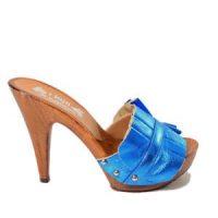 zoccoli donna azzurri kikkiline