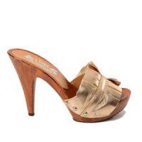 woman's mules beige kikkiline