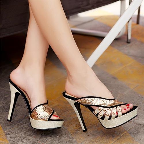 sandali eleganti neri