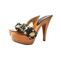zoccoli mimetici tacco 13 kiara shoes