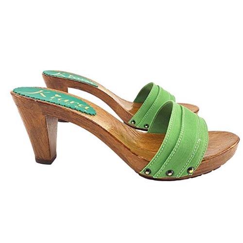 zoccoli bassi verdi