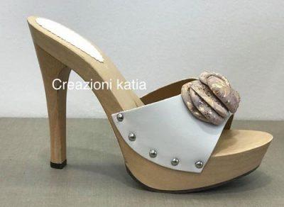 Creazioni Katia zoccoli sexy con fiocco