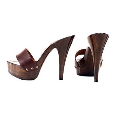 kiara shoes Zoccoli Donna ALTISSIMI con tacco fine