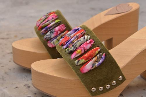 Women's clogs for summer 2020 from Mineo Mare Pietrasanta