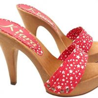 sandali rossi tacco 13