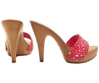 scarpe alte da donna