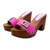 handcrafted mules with comfortable heel