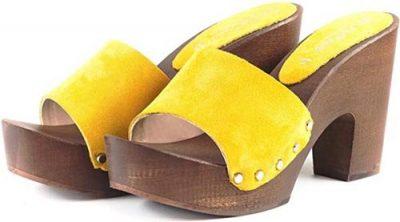 zoccoli gialli monoblocco