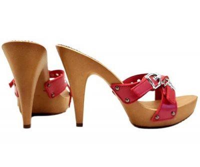 sandali sexy rossi