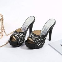 low-cost mules 11cm high heels