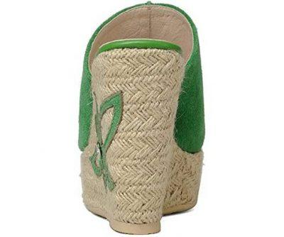sandali con tacco a zeppa