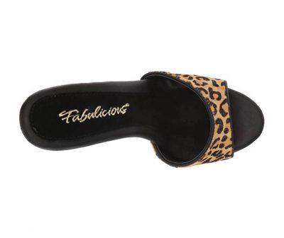 sandali sexy leopardati