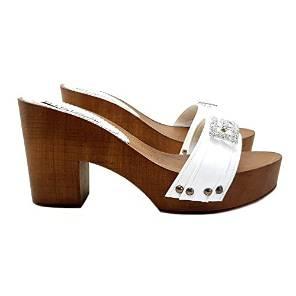 kiara shoes zoccoli bianchi da spiaggia
