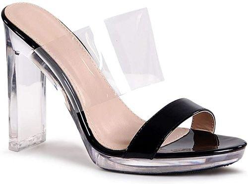 semi-sheer sandals