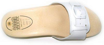 scarpe con tacco a molla