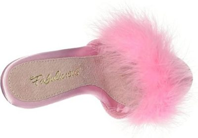 zoccoli vintage rosa