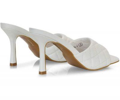 sandali trapuntati bianchi