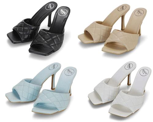 sandali trapuntati