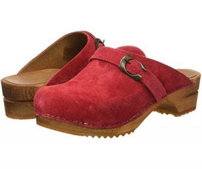 zoccoli sanita rossi da donna