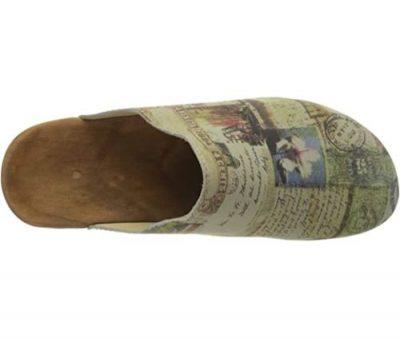 zoccoli di vero legno