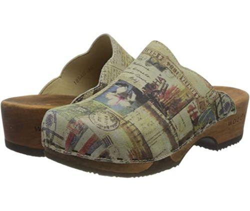 zoccoli di legno