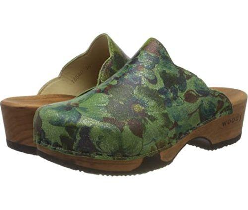 green clogs