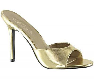 classic gold sandals