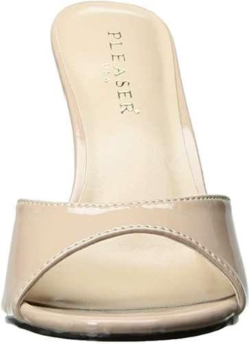 high heel sandals pleaser