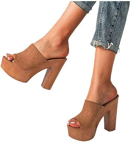 high women's sandals