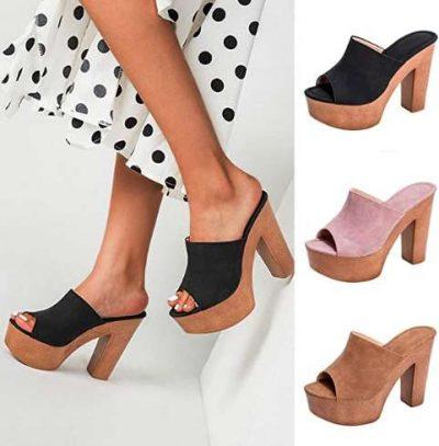 women's sandals with high heels