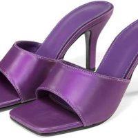 sandali con punta quadrata