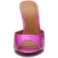sandali aperti con tacco a spillo