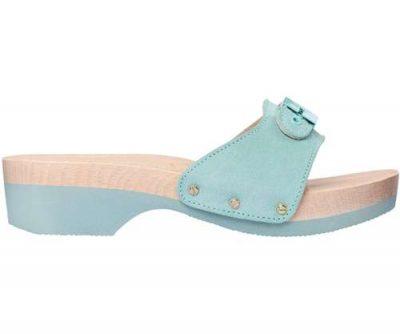 scholl zoccoli pescura azzurri