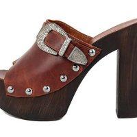 zoccoli donna Marradini tacco 13