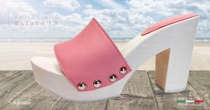 sandali tacco a blocco